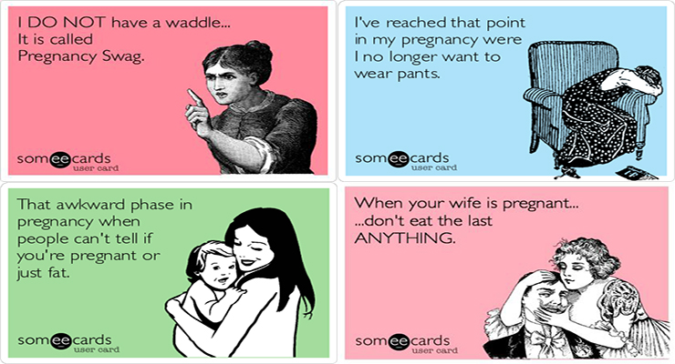 Funniest Cards About Pregnancy